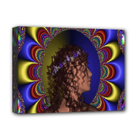 New Romantic Deluxe Canvas 16  X 12  (framed)  by icarusismartdesigns