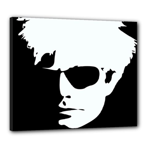 Warhol Canvas 24  X 20  (framed) by icarusismartdesigns