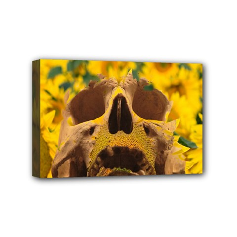 Sunflowers Mini Canvas 6  X 4  (framed) by icarusismartdesigns