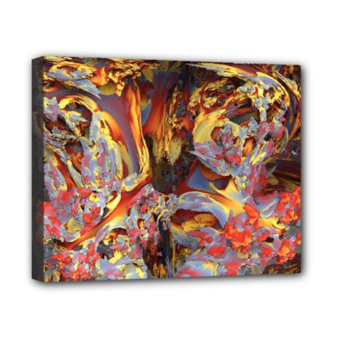 Abstract 4 Canvas 10  X 8  (framed) by icarusismartdesigns