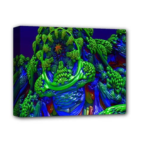 Abstract 1x Deluxe Canvas 14  X 11  (framed) by icarusismartdesigns