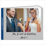 Wedding Part 1 - 9x7 Photo Book (20 pages)