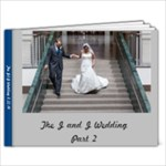 Wedding Part 2 - 9x7 Photo Book (20 pages)