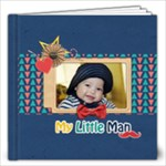 12 x12 Photobook: My Little Man - 12x12 Photo Book (20 pages)