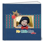 8x8 (DELUXE) Photobook: My Little Man - 8x8 Deluxe Photo Book (20 pages)