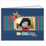 9x7  Photobook: My Little Man - 9x7 Photo Book (20 pages)