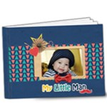 9x7 (DELUXE) Photobook: My Little Man - 9x7 Deluxe Photo Book (20 pages)