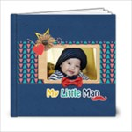6x6 Photobook: My Little Man - 6x6 Photo Book (20 pages)
