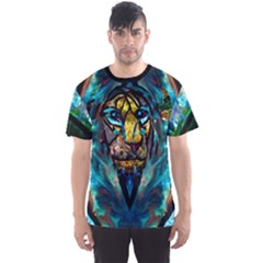 curty by saprillika Men s Full All Over Print Sport T-shirt by saprillika