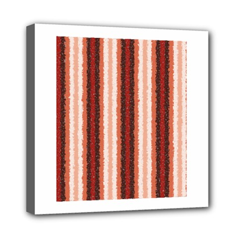 Native American Curly Stripes   1 Mini Canvas 8  X 8  (framed) by BestCustomGiftsForYou