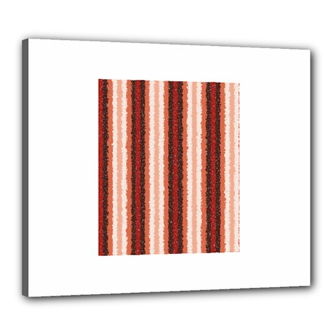 Native American Curly Stripes   1 Canvas 24  X 20  (framed) by BestCustomGiftsForYou