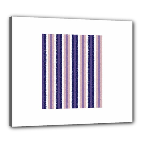 Native American Curly Stripes   2 Canvas 24  X 20  (framed) by BestCustomGiftsForYou