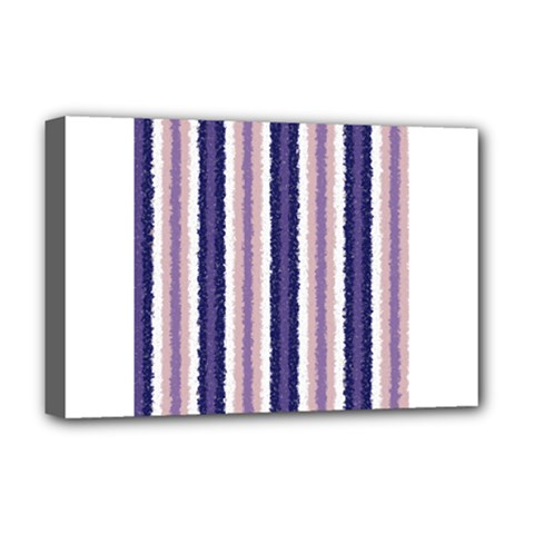 Native American Curly Stripes   2 Deluxe Canvas 18  X 12  (framed) by BestCustomGiftsForYou
