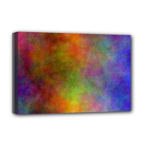 Plasma 9 Deluxe Canvas 18  X 12  (framed) by BestCustomGiftsForYou