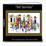 Mi Familia Personal  - 8x8 Photo Book (20 pages)