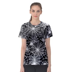 Cobweb Women s Full All Over Print Sport T Shirt by SonderSky