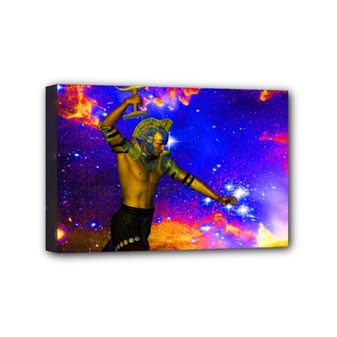 Star Fighter Mini Canvas 6  X 4  (framed) by icarusismartdesigns
