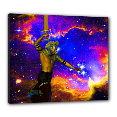 Star Fighter Canvas 24  X 20  (framed) by icarusismartdesigns