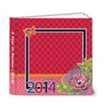 A Year In Review - Colorful - 6x6 Deluxe Photo Book (20 pages)