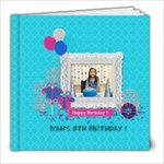 8x8: Glittery Birthday - 8x8 Photo Book (20 pages)