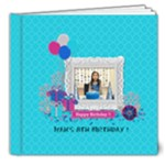 8x8 (DELUXE): Glittery Birthday - 8x8 Deluxe Photo Book (20 pages)