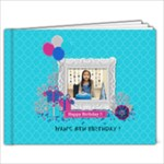 9x7: Glittery Birthday - 9x7 Photo Book (20 pages)