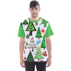 Oh Christmas Tree Men s Full All Over Print Sport T Shirt
