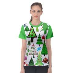 Oh Christmas Tree Women s All Over Print Sport T Shirt by StuffOrSomething
