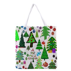 Oh Christmas Tree Full All Over Print Grocery Tote Bag by StuffOrSomething