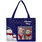 Christmas Things 3 Full Tiny Tote - Mini Tote Bag