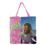 All Girl Full Grocery Tote Bag