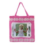Little Lady Full Grocery Tote Bag