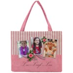 Tiny Tote Bag :Live Laugh Love - Mini Tote Bag
