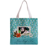 Grocery Tote Bag : Live Laugh Love 2