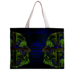 Binary Communication All Over Print Tiny Tote Bag by StuffOrSomething