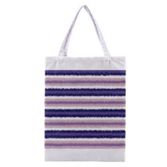 Horizontal Native American Curly Stripes   2 All Over Print Classic Tote Bag by BestCustomGiftsForYou