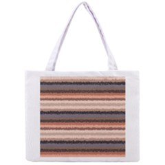 Horizontal Native American Curly Stripes   4 All Over Print Tiny Tote Bag by BestCustomGiftsForYou