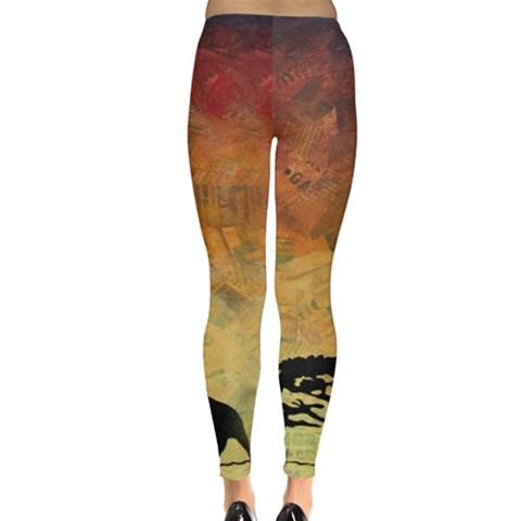Leggings  Back