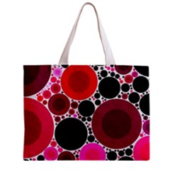 Retro Polka Dot  All Over Print Tiny Tote Bag by OCDesignss