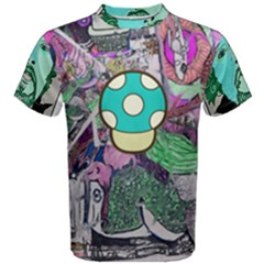 Lives Up All Over Print Coolmax Cotton Tee (men) by naparadissis