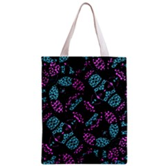 Ornate Dark Pattern  All Over Print Classic Tote Bag by dflcprints