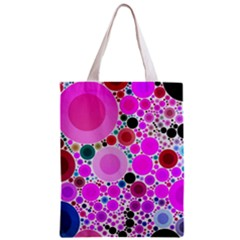 Bubble Gum Polkadot  All Over Print Classic Tote Bag by OCDesignss