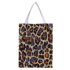 Cheetah Abstract All Over Print Classic Tote Bag by OCDesignss