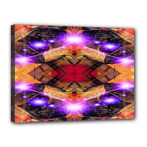 Third Eye Canvas 16  X 12  (framed) by icarusismartdesigns