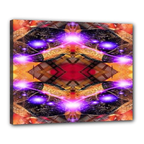 Third Eye Canvas 20  X 16  (framed) by icarusismartdesigns