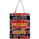 Retro Polka Dots  All Over Print Classic Tote Bag View2