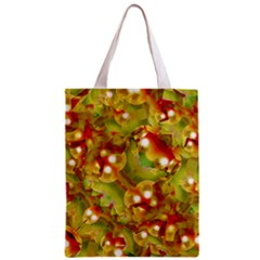 Christmas Print Motif All Over Print Classic Tote Bag