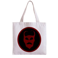 Devil Symbol Logo All Over Print Grocery Tote Bag by dflcprints