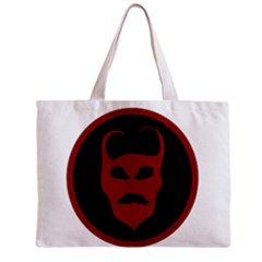 Devil Symbol Logo All Over Print Tiny Tote Bag