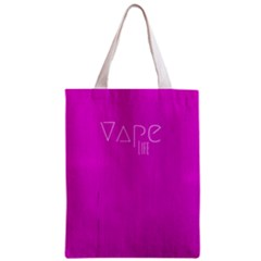 Vape Life Hot Pink All Over Print Classic Tote Bag by OCDesignss